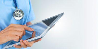 profesional salud tablet ejemplo efectividad eficacia eficiencia