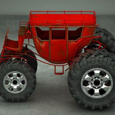 Diligencia con ruedas de tractor como ejemplo de personalizar GTD: qué es y cuándo hacerlo