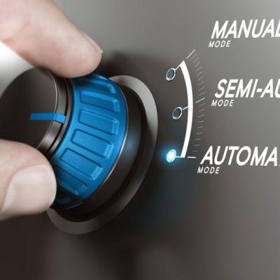 selector de rueda modos manual semi-auto automatico
